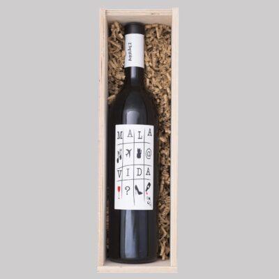 mala-vida-red-wine-wooden box