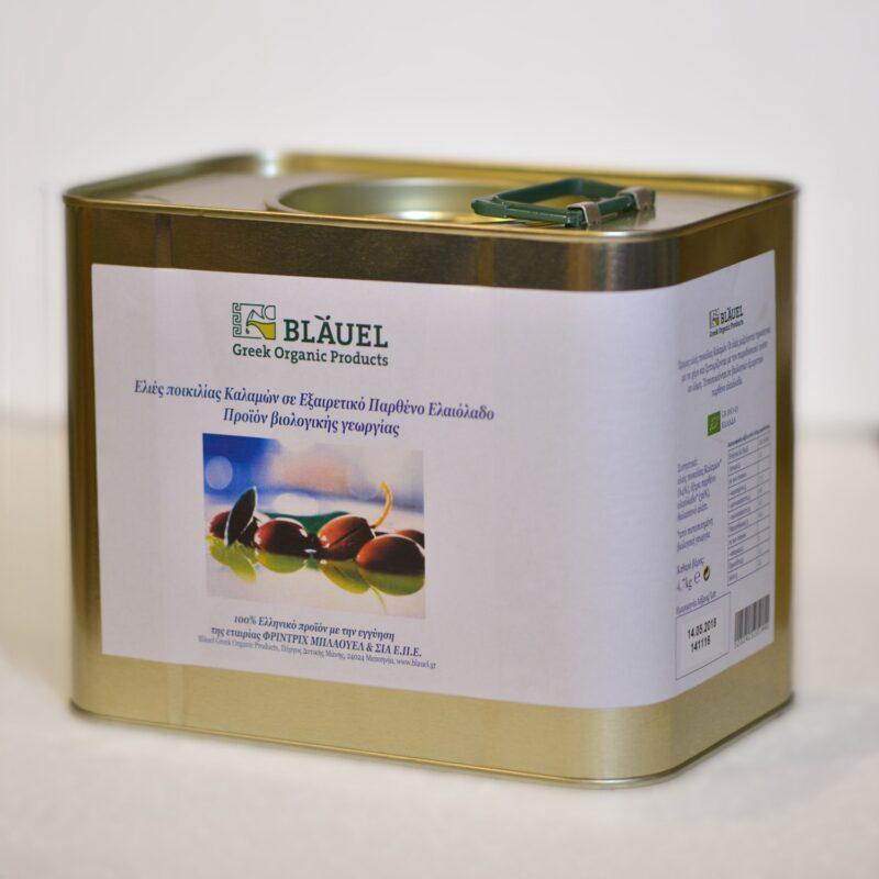 Blauel olives in olive oil 4.7 kg
