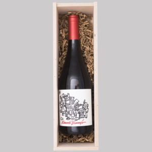 Eduardo Bermejo wine wooden box