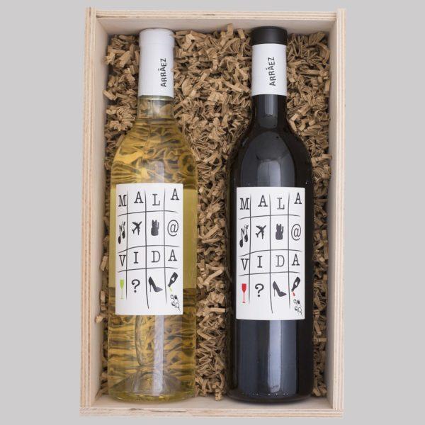 gift box 2 mala vida wines