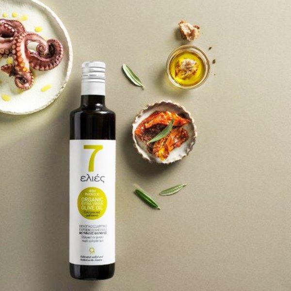 7 elies extra virgin olive oil Atsas