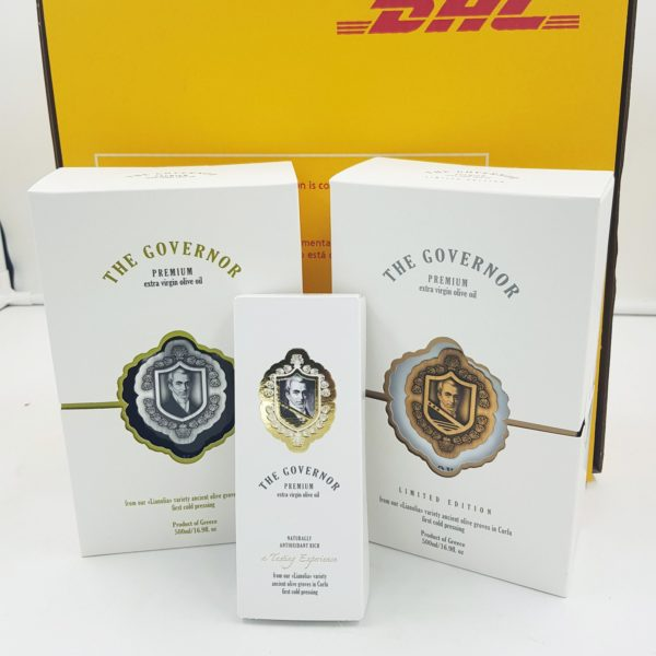 premium & Limited edition Governor oil % free tasting experience kit