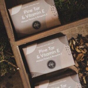 pine tar handmade soap bar vasilakis