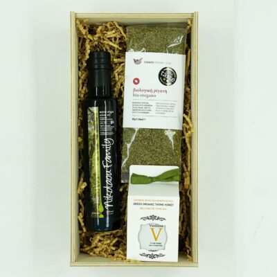 evoo - honey - organic oregano