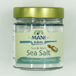 mani blauel sea salt