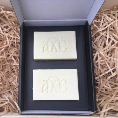 handmade soap gift set 2 bars