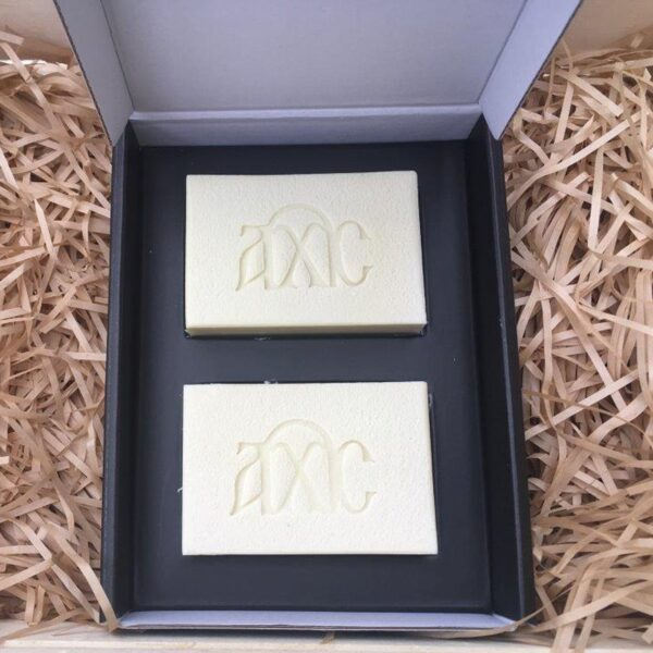 handmade soap gift set 2 bars