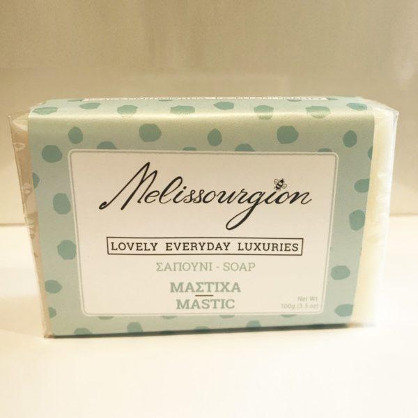 melissourgion mastic soap