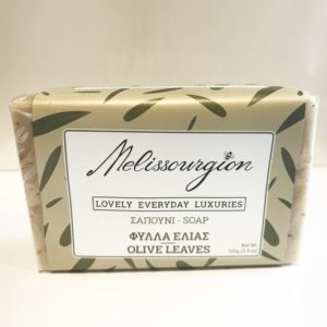 melissourgion olive leaves soap