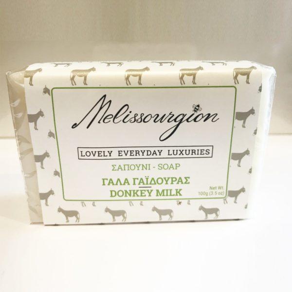 melissourgion donkey milk soap