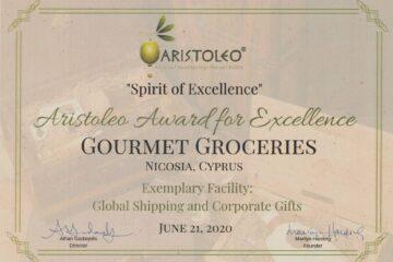 Aristoleo Award 2020 - Gourmet Groceries