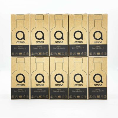 Bundle of 10x100ml Atsas healthy olive oil
