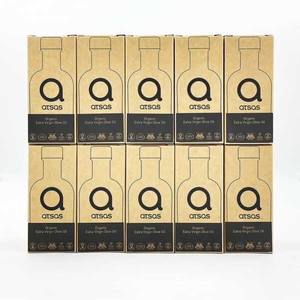 Bundle of 10x100ml Atsas healthy olive oil
