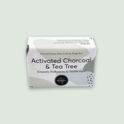 vasilakis handmade activated charcoal soap