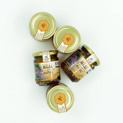 Ikarian raw pure honey - Bulk Offer box of 5