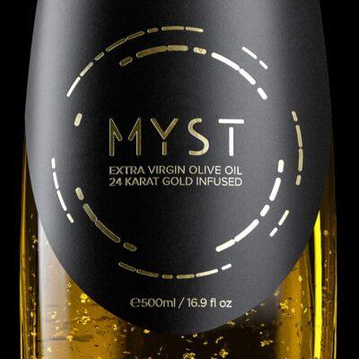 Myst gold 24 Karat Gold Infused Extra Virgin Olive OIl 500ml