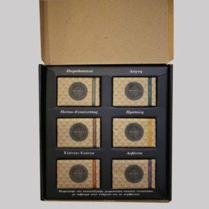 vasilakis-gift pack-6 soaps